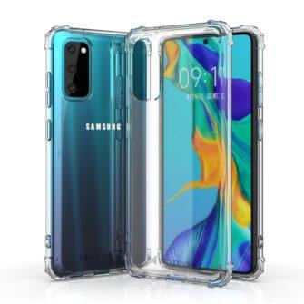 Samsung S20 tugevdatud nurkade Anti Shock umbris labipaistev 2