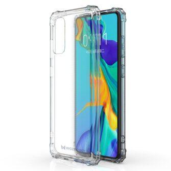 Samsung S20 tugevdatud nurkade Anti Shock umbris labipaistev 3