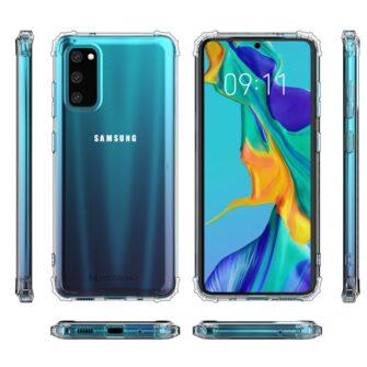 Samsung S20 tugevdatud nurkade Anti Shock umbris labipaistev 8