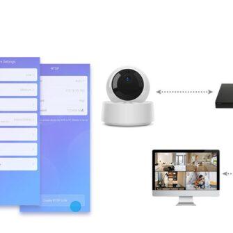 Sonoff kaamera juhtmevaba Wi Fi IP turvakaamera FULL HD 1080p GK 200MP2 B 9