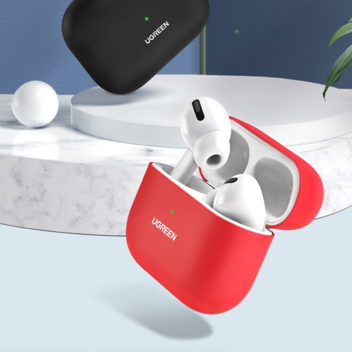 Ugreen Silica Gel AirPods Pro Case umbris kaaned must 80513 2