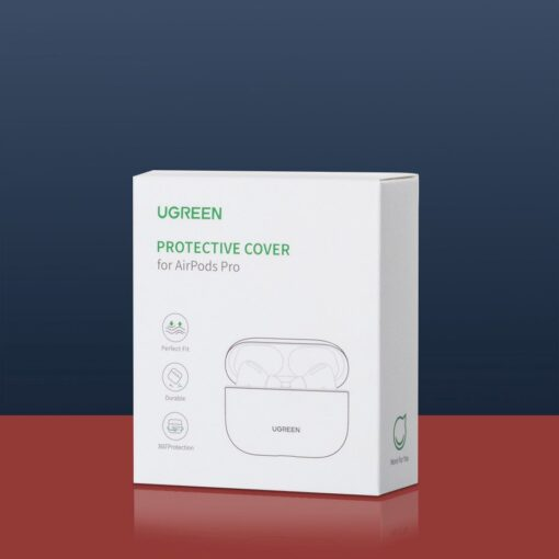 Ugreen Silica Gel AirPods Pro Case umbris kaaned roheline 80514 13