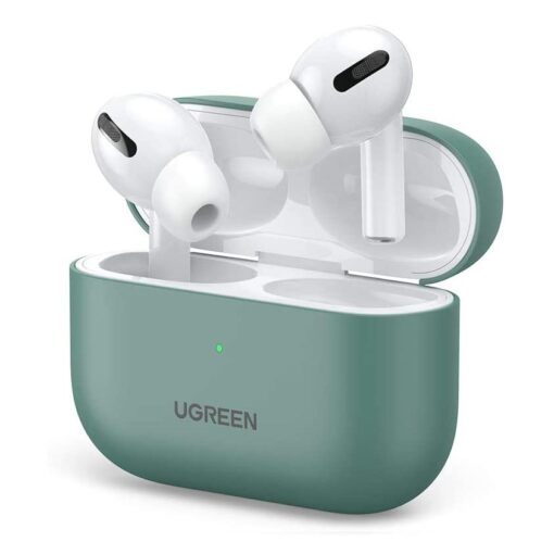 Ugreen Silica Gel AirPods Pro Case umbris kaaned roheline 80514