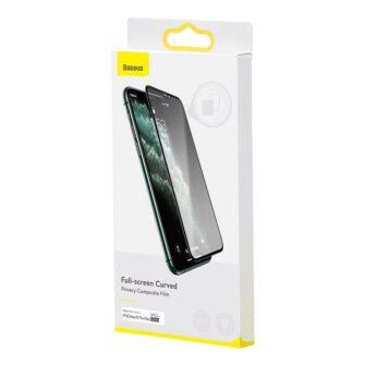 iPhone 11 Pro Max 3D 0.25mm privaatsisufiltriga kaitseklaas 18