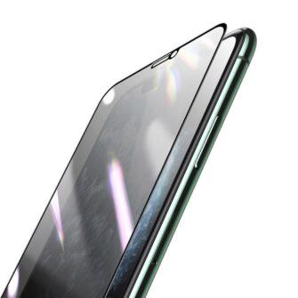 iPhone 11 Pro Max 3D 0.25mm privaatsisufiltriga kaitseklaas 3