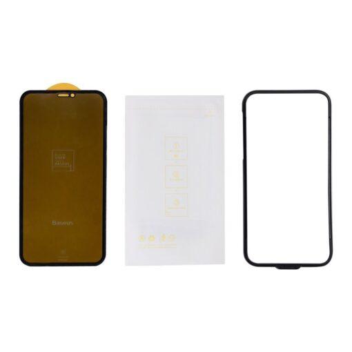 iPhone 11 Pro Max 3D 0.25mm privaatsisufiltriga kaitseklaas 5