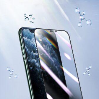 iPhone 11 Pro Max 3D 0.25mm privaatsisufiltriga kaitseklaas 6