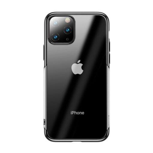 iPhone 11 Pro Max laikivate servadega silikoonist umbris Baseus Shining must 1