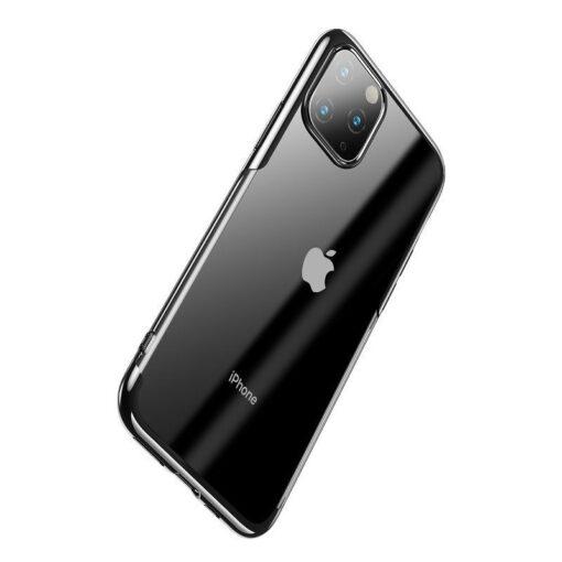 iPhone 11 Pro Max laikivate servadega silikoonist umbris Baseus Shining must 2