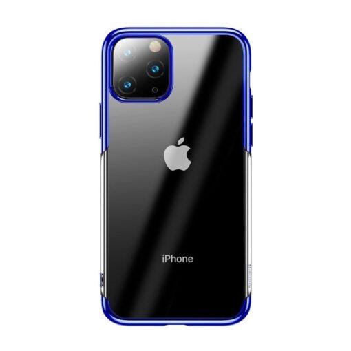 iPhone 11 Pro Max laikivate servadega silikoonist umbris Baseus Shining sinine 1