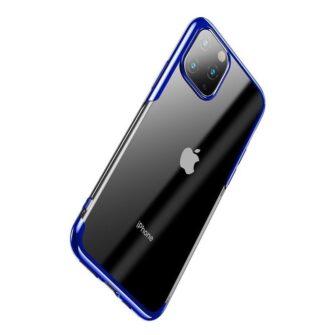 iPhone 11 Pro Max laikivate servadega silikoonist umbris Baseus Shining sinine 2