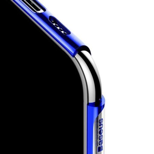 iPhone 11 Pro Max laikivate servadega silikoonist umbris Baseus Shining sinine 4