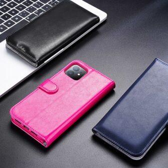 iPhone 11 kaaned Dux Ducis Kado roosa 15