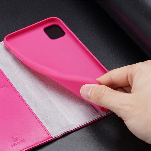 iPhone 11 kaaned Dux Ducis Kado roosa 3