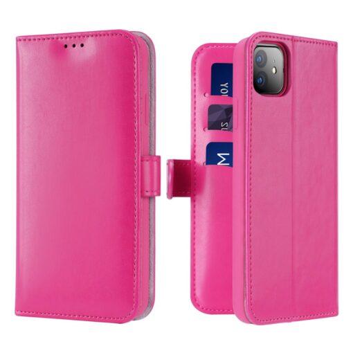 iPhone 11 kaaned Dux Ducis Kado roosa