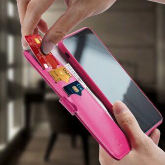 iPhone 11 kaaned Dux Ducis Kado roosa 8