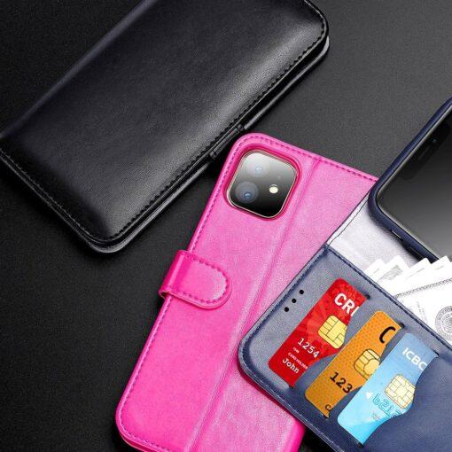 iPhone 11 kaaned Dux Ducis Kado roosa 9