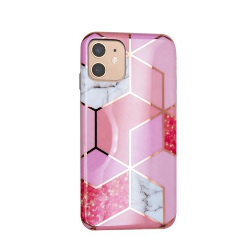 iPhone 11 kaaned silikoonist Cosmo Marble 1