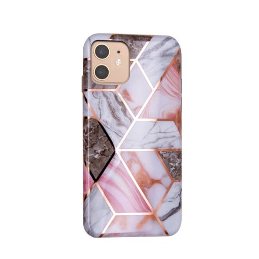 iPhone 11 kaaned silikoonist Cosmo Marble 4