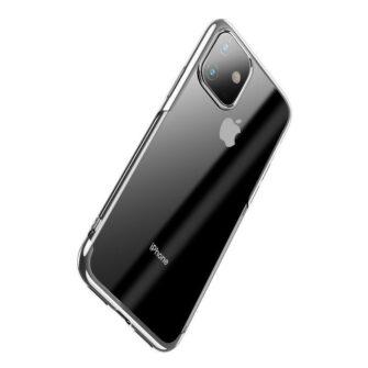 iPhone 11 laikivate servadega silikoonist umbris Baseus Shining hobe 2
