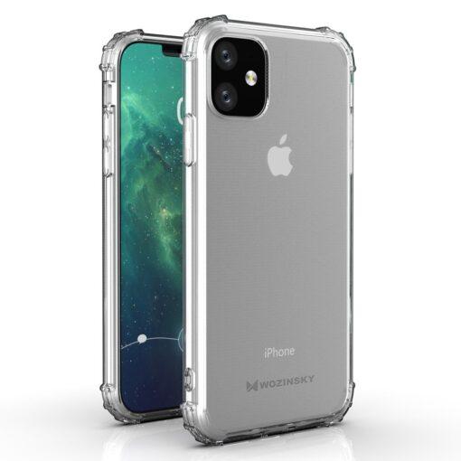 iPhone 11 tugevdatud nurkade Anti Shock umbris labipaistev 1