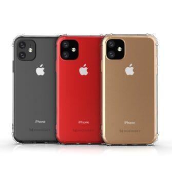 iPhone 11 tugevdatud nurkade Anti Shock umbris labipaistev 11
