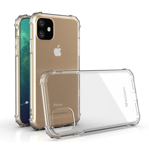 iPhone 11 tugevdatud nurkade Anti Shock umbris labipaistev 3