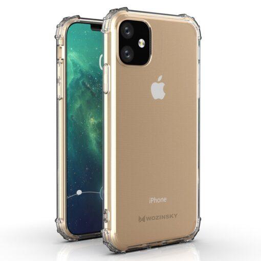 iPhone 11 tugevdatud nurkade Anti Shock umbris labipaistev