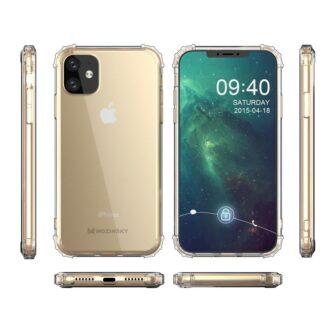 iPhone 11 tugevdatud nurkade Anti Shock umbris labipaistev 7