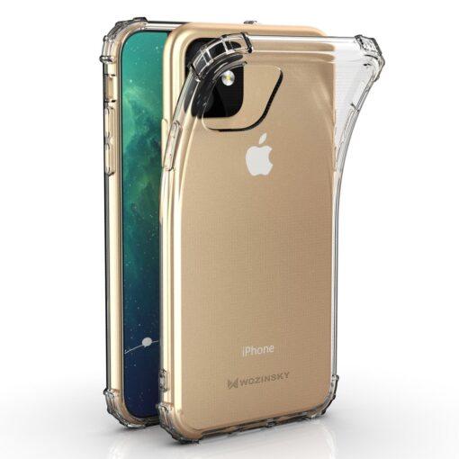iPhone 11 tugevdatud nurkade Anti Shock umbris labipaistev 8