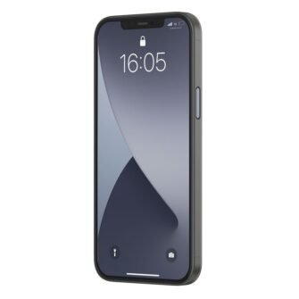 iPhone 12 12 Pro Baseus Wing Case Ultrathin plastikust umbris must 2