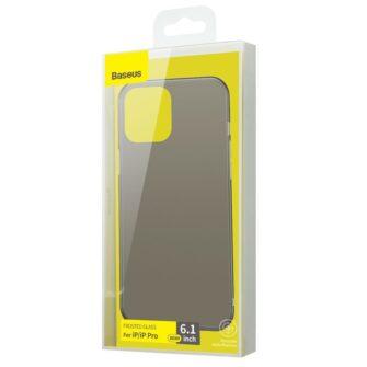 iPhone 12 12 Pro Baseus Wing Case Ultrathin plastikust umbris must 3