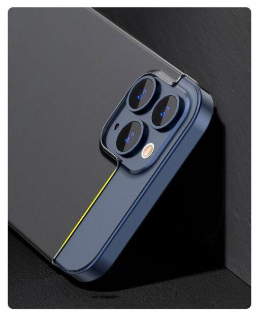 iPhone 12 12 Pro Baseus Wing Case Ultrathin plastikust umbris must 7
