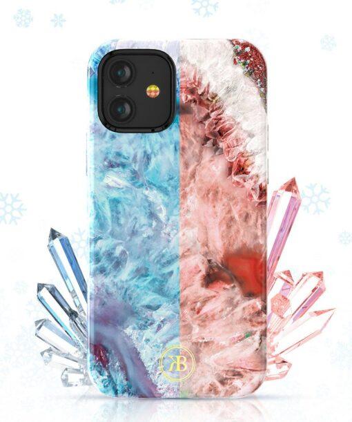 iPhone 12 12 Pro Kingxbar Agater umbris punane 2