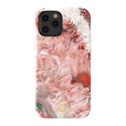iPhone 12 12 Pro Kingxbar Agater umbris punane