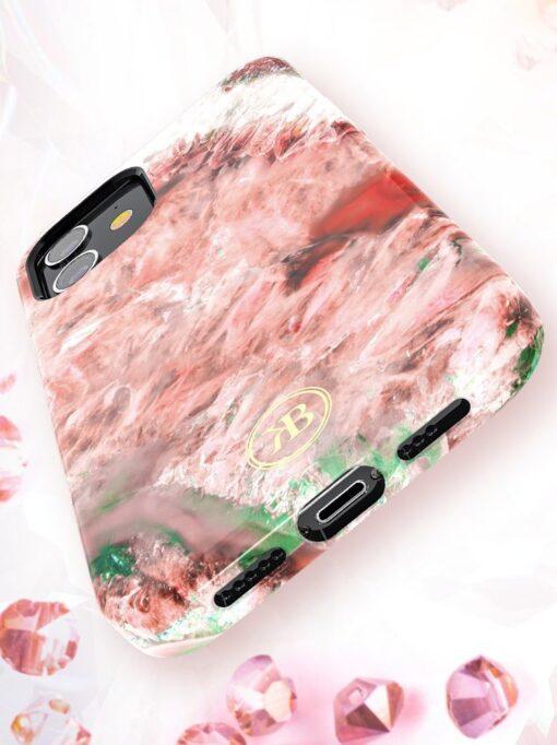iPhone 12 12 Pro Kingxbar Agater umbris punane 6