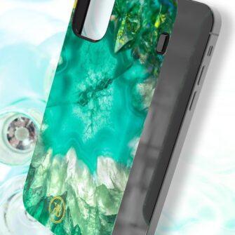 iPhone 12 12 Pro Kingxbar Agater umbris roheline 5