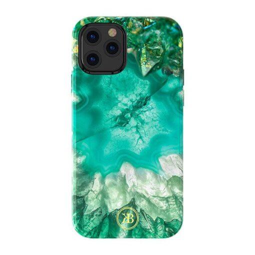 iPhone 12 12 Pro Kingxbar Agater umbris roheline