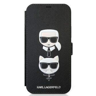 iPhone 12 12 Pro kaaned Karl Lagerfeld KLFLBKP12MSAKICKCBK 1