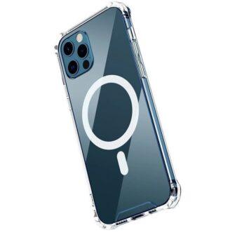 iPhone 12 12 Pro silikoonist MagSafe tugevdatud nurkadega kaaned labipaistev 1