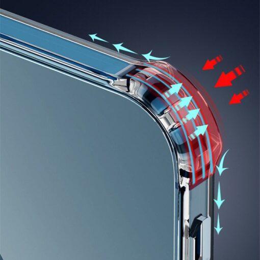 iPhone 12 12 Pro silikoonist MagSafe tugevdatud nurkadega kaaned labipaistev 10