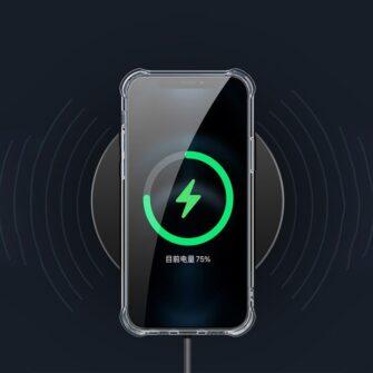 iPhone 12 12 Pro silikoonist MagSafe tugevdatud nurkadega kaaned labipaistev 14