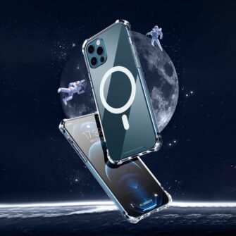 iPhone 12 12 Pro silikoonist MagSafe tugevdatud nurkadega kaaned labipaistev 16