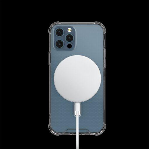iPhone 12 12 Pro silikoonist MagSafe tugevdatud nurkadega kaaned labipaistev 2