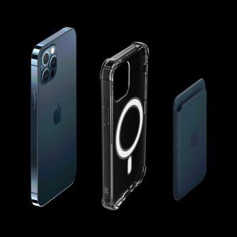 iPhone 12 12 Pro silikoonist MagSafe tugevdatud nurkadega kaaned labipaistev 3
