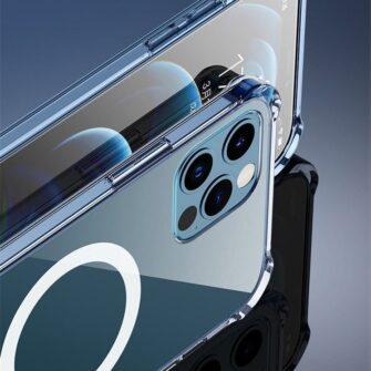 iPhone 12 12 Pro silikoonist MagSafe tugevdatud nurkadega kaaned labipaistev 7