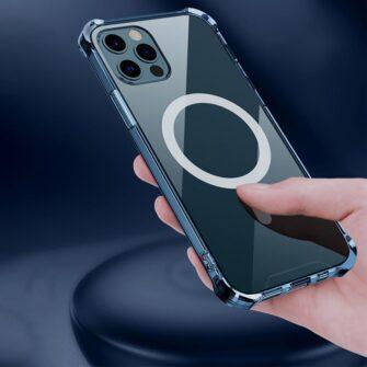 iPhone 12 12 Pro silikoonist MagSafe tugevdatud nurkadega kaaned labipaistev 8