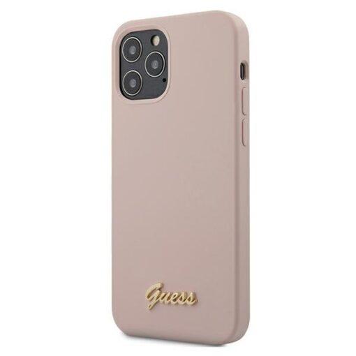 iPhone 12 12 Pro umbris silikoonist Guess GUHCP12MLSLMGLP