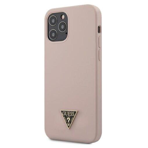 iPhone 12 12 Pro umbris silikoonist Guess GUHCP12MLSTMLP