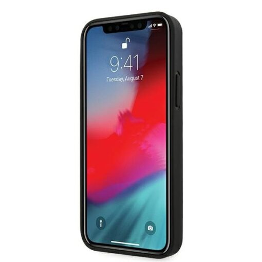iPhone 12 12 Pro umbris silikoonist Guess GUHCP12MPU4GHBR 1